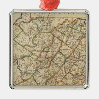 Map of Virginia Ornament