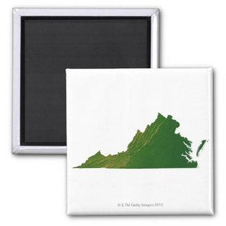 Map of Virginia Magnet
