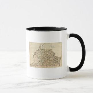 Map of Virginia Mug