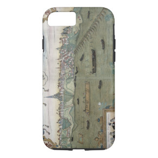 Map of Warsaw, from 'Civitates Orbis Terrarum' by iPhone 8/7 Case