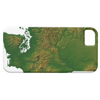Map of Washington 3 Barely There iPhone 5 Case