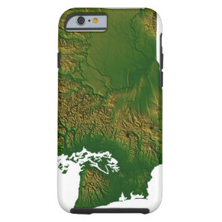 Map of Washington 3 Tough iPhone 6 Case