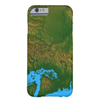 Map of Washington Barely There iPhone 6 Case