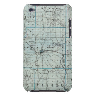 Map of Washington County iPod Touch Cases
