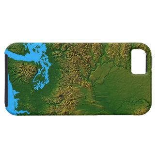 Map of Washington Tough iPhone 5 Case