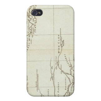 Map of West Africa iPhone 4 Cover