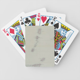 Map of West Indies Bicycle Playing Cards