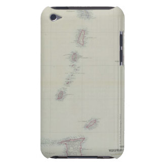 Map of West Indies Case-Mate iPod Touch Case