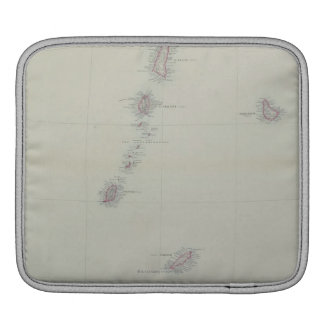 Map of West Indies iPad Sleeve