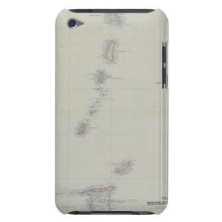 Map of West Indies iPod Touch Case