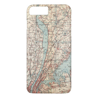 Map of Westchester County, New York iPhone 8 Plus/7 Plus Case