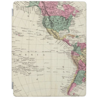 Map of Western Hemisphere iPad Cover