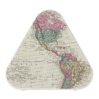 Map of Western Hemisphere