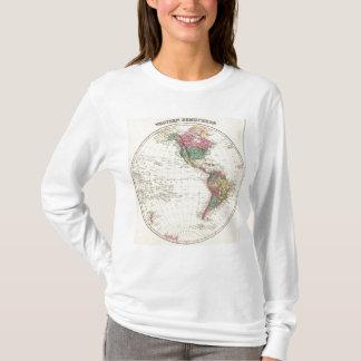 Map of Western Hemisphere T-Shirt