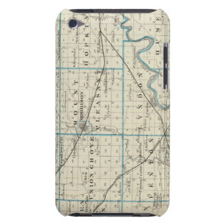 Map of Whiteside County Barely There iPod Cover