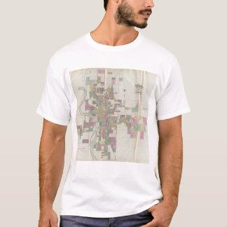 Map of Wichita, Kansas T-Shirt