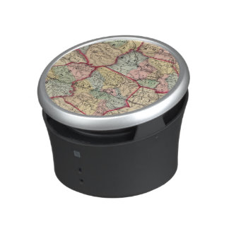 Map of Winfield, West Virginia Bluetooth Speaker
