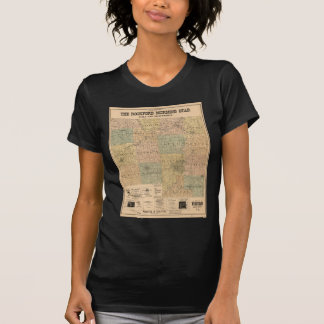 Map of Winnebago County Illinois (1902) T-Shirt