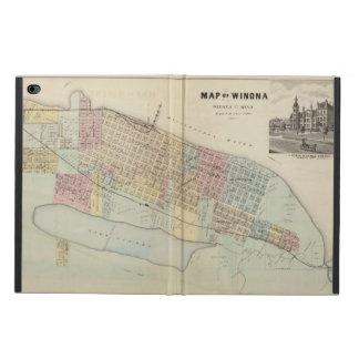 Map of Winona, Minnesota Powis iPad Air 2 Case