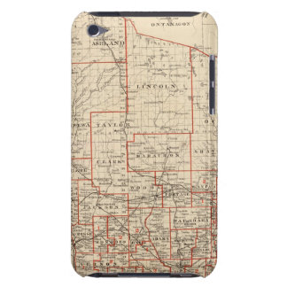 Map of Wisconsin, showing assembly districts Barely There iPod Covers