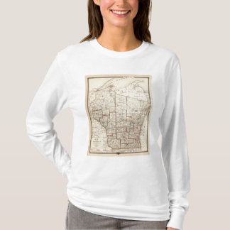 Map of Wisconsin T-Shirt