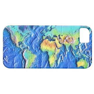 Map of world iPhone 5 covers