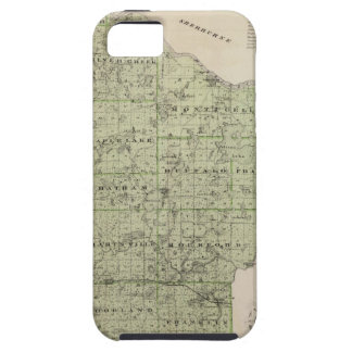 Map of Wright County, Minnesota iPhone 5 Cover