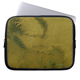 Map of Wyoming 2 Laptop Sleeve