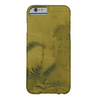 Map of Wyoming Barely There iPhone 6 Case