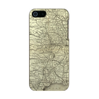 Map Ohio and Mississippi Railway Incipio Feather® Shine iPhone 5 Case