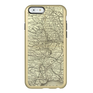 Map Ohio and Mississippi Railway Incipio Feather® Shine iPhone 6 Case