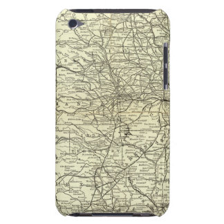 Map Ohio and Mississippi Railway iPod Case-Mate Case
