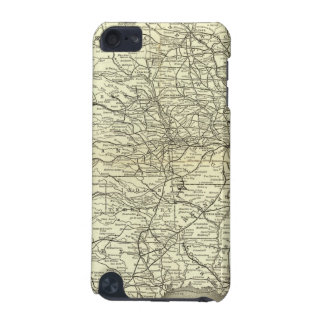 Map Ohio and Mississippi Railway iPod Touch (5th Generation) Covers