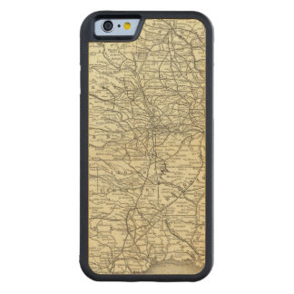 Map Ohio and Mississippi Railway Maple iPhone 6 Bumper