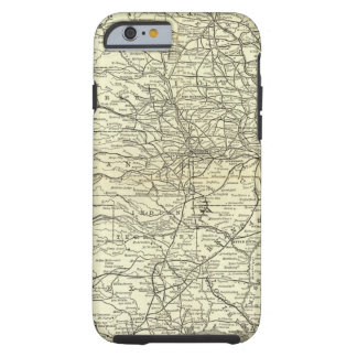 Map Ohio and Mississippi Railway Tough iPhone 6 Case