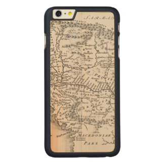 MAP: PANNONIA CARVED MAPLE iPhone 6 PLUS CASE