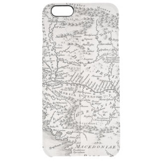 MAP: PANNONIA CLEAR iPhone 6 PLUS CASE