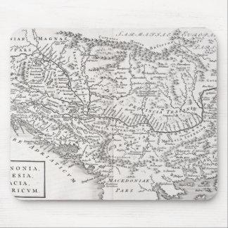 MAP: PANNONIA MOUSE MAT