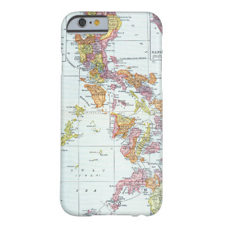 MAP: PHILIPPINES, 1905 BARELY THERE iPhone 6 CASE