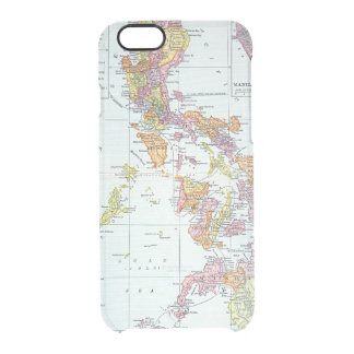 MAP: PHILIPPINES, 1905 CLEAR iPhone 6/6S CASE