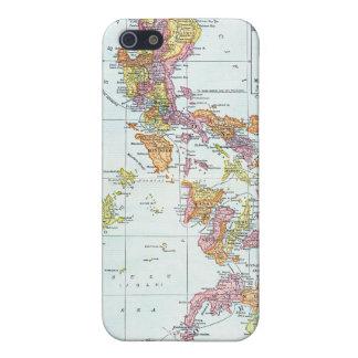 MAP: PHILIPPINES, 1905 iPhone 5/5S CASES