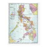 MAP: PHILIPPINES, 1905 POSTCARD