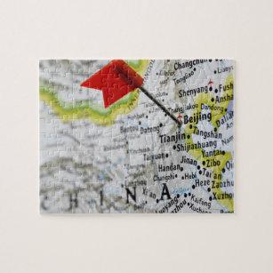 China Map Puzzle.China Map Jigsaw Puzzles Zazzle Co Uk