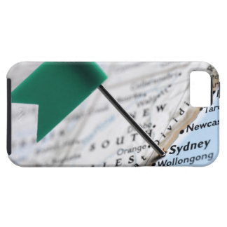 Map pin placed in Sydney, Australia on map, Case For The iPhone 5