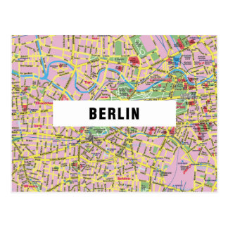 MAP POSTCARDS ♥ Berlin