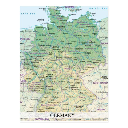MAP POSTCARDS ♥ Germany 2