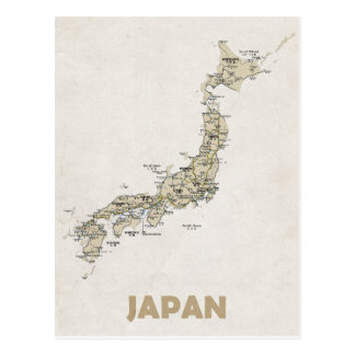 MAP POSTCARDS ♥ Japan
