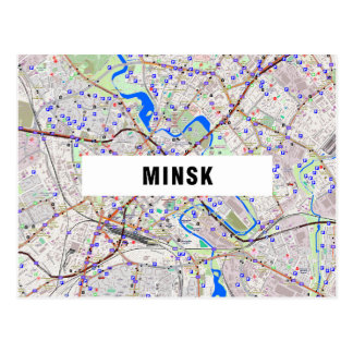 MAP POSTCARDS ♥ Minsk