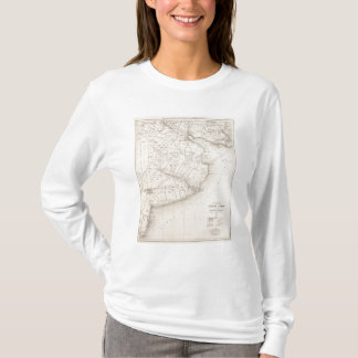 Map, Province of Buenos Aires, neighboring regions T-Shirt
