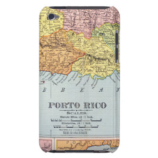 MAP: PUERTO RICO, 1900 iPod TOUCH COVER